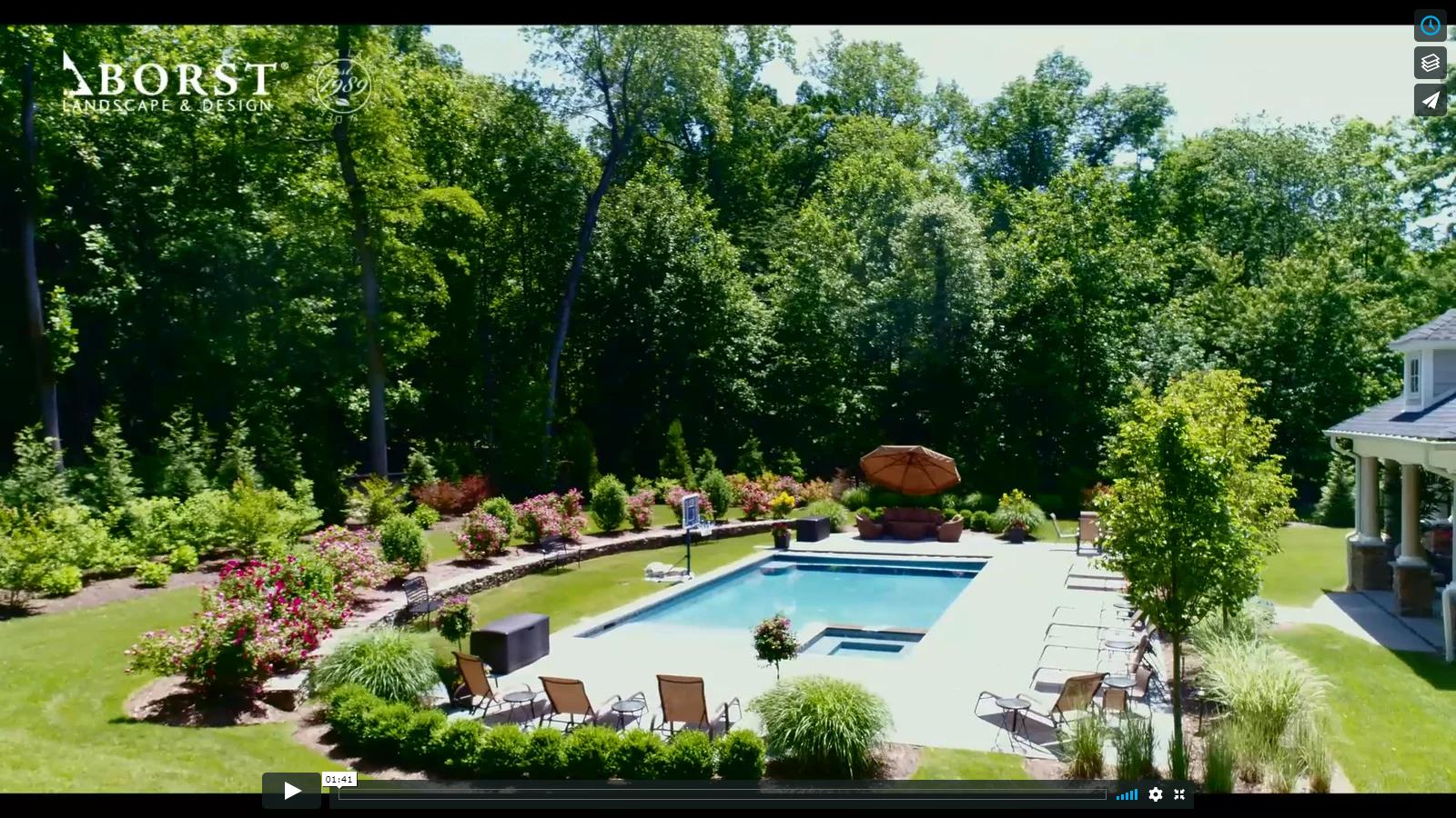 Beautiful back yard